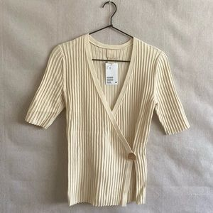 H&M Wrap-Over Top